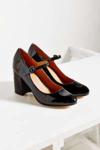 Patent Black Mary Jane Pump from Urban Outfitters--$79