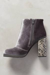 Velvet Booties from Anthropologie--$158