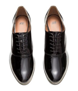 Classic Patent Loafers from H&M--$39.99